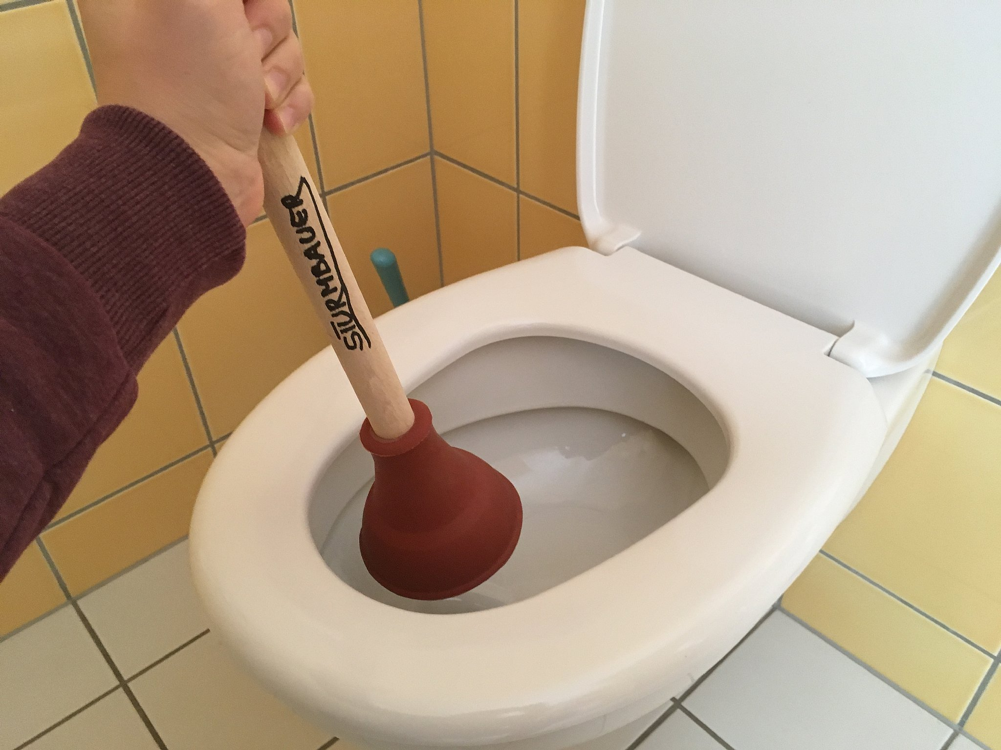 Was Tun Wenn Die Toilette Oder Der Abfluss Verstopft Ist Tipps